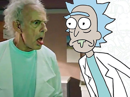 Rick & Morty Casts Christopher Lloyd as Rick in Live-Action Promo