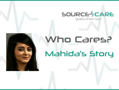 Care work pays off - Mahida's inspiring story