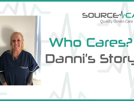 When one thing ends, another begins – Danni's inspirational story