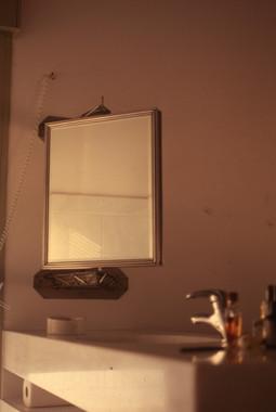 Περιστρεφόμενος καθρέφτης/Rotating mirror