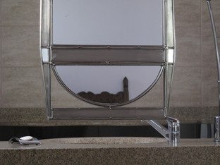 Συρόμενος καθρέφτης δύο όψεων (λεπτ.)/Sliding reversible mirror (det.)