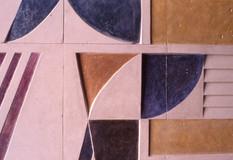 Επιτοίχιο ανάγλυφο σε ιδιωτική οικία (λεπτομέρεια)/Wall relief at a private residence (det.)