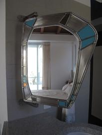 Καθρέφτης κινούμενος κατά 180°/Mirror rotating on an 180° axis