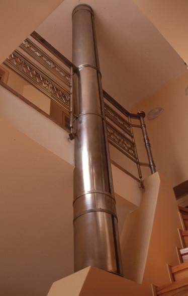 Καμινάδα τζακιού/Fireplace chimney