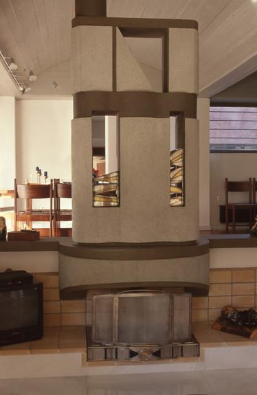 Ατσάλι, γυαλί. 1997  Steel, glass. 1997