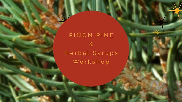 Piñon Pine & Herbal Syrups Workshop