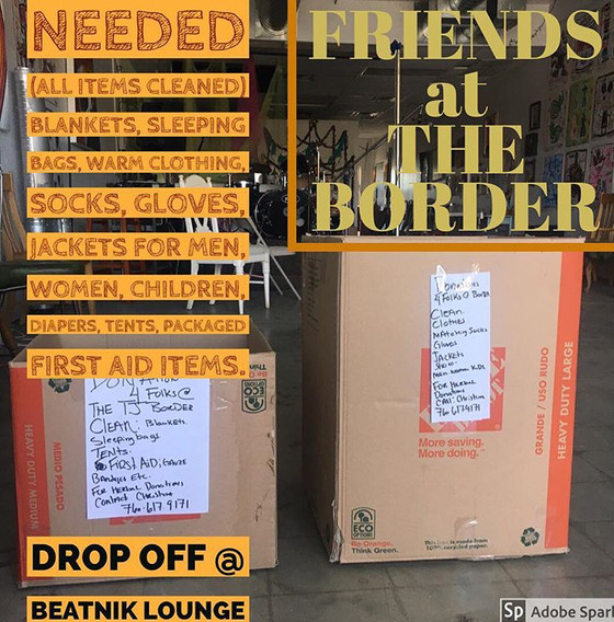 Friends at The Border Asylum Seekers Donation