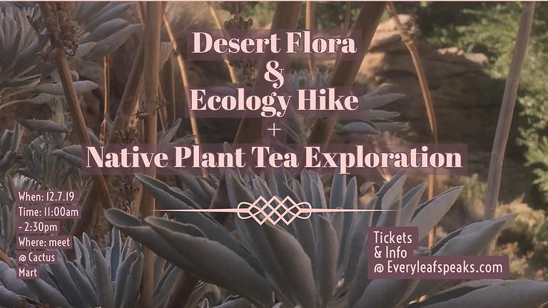 Desert Flora & Ecology Hike & Plant Tea Exploration