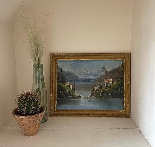 Oil on Canvas - Cesare Monti