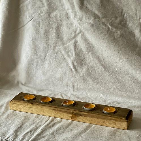 Reclaimed Wood Tealight Holder