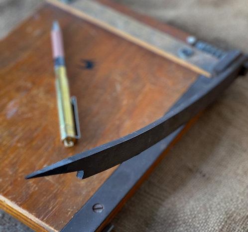 Gorgeous Vintage Wooden Guillotine