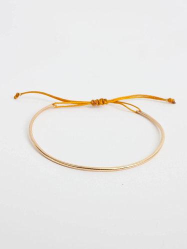 Gold Luna Bracelet -Mustard