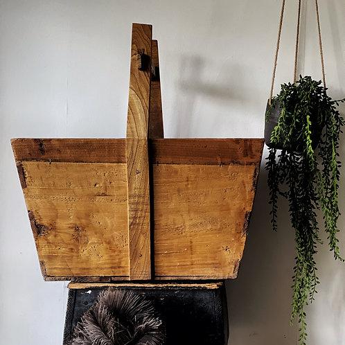 Extra Large Vintage Wooden Trug