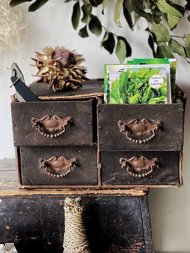 Small Leather Drawers