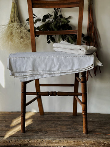 Vintage French Linen Sheets