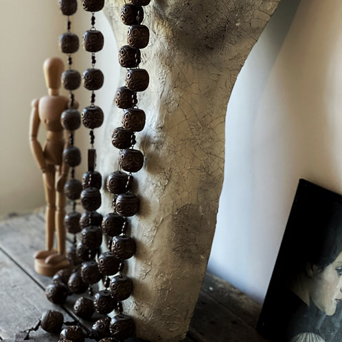 Vintage Rosary Beads Extra Long
