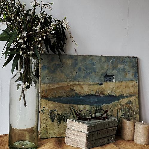 Oil on Canvas - Unframed Landscape