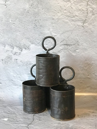 Old Indian Thali Pots