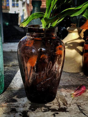Medium Brown Bottle Virol