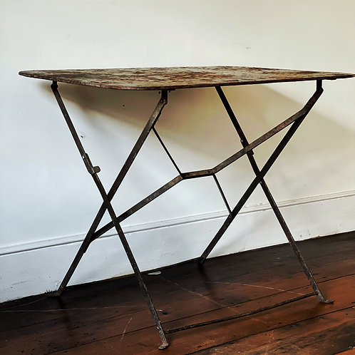Folding Metal Table