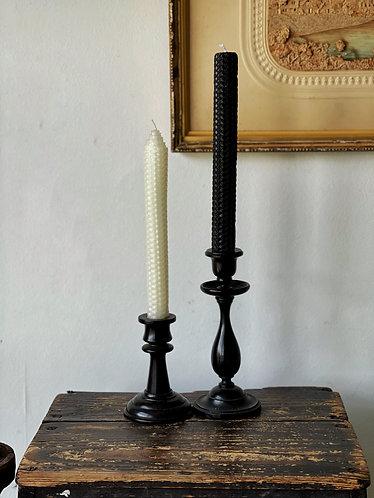 Pair Black Candlesticks