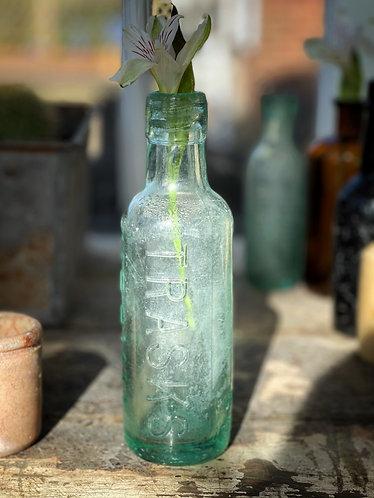 Small mottled bottle