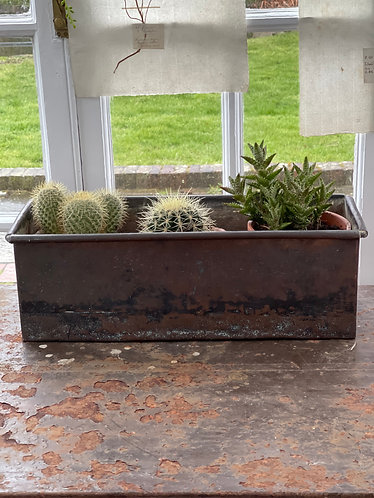Heavy Copper Planter