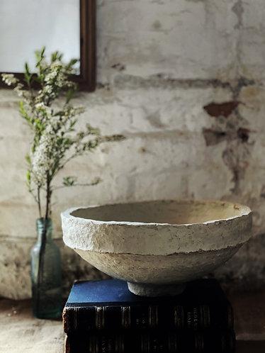 Vintage Indian Paper Mache Bowl