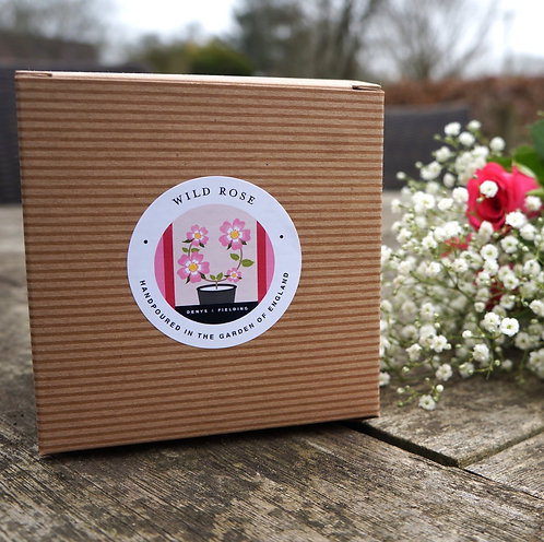 Denys & Fielding Candle - Wild Rose
