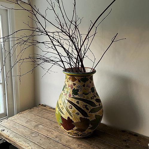 Extra Large French Art Pottery Vase