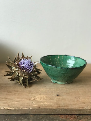 Tamegroute Green Large Nibble Bowl
