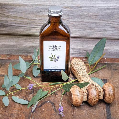 Massage Oil - Eucalyptus & Lavender