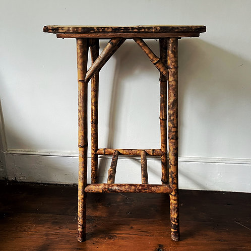 Old Bamboo Tall side table