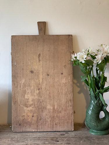 Large Old European Bread Board