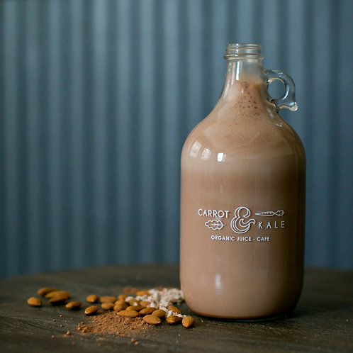 Nutmilk and Cold Brew Growlers