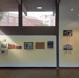 Installation view, USC Hillel gallery