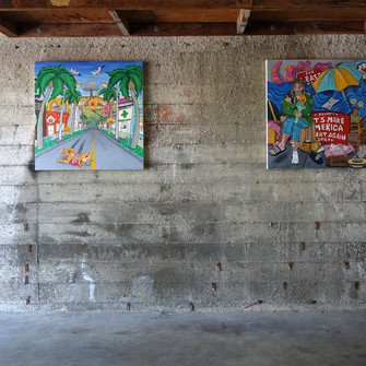 Adar Aviam, Stuff I Do, Solo Exhibition, Los Angeles, CA 2018