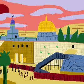 Dan Allon, souvenir (Jerusalem)