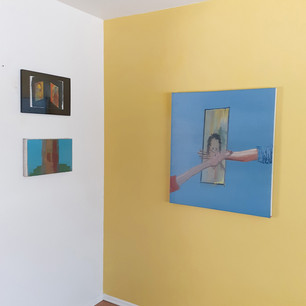 Alon Kedem, Screen Time, Installation View, IAILA, May 2021