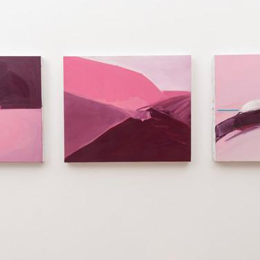 Iris Cintra, From Sea dizziness to land dizziness, 2020, Installation view