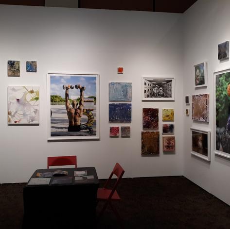 IAILA Booth, Rotem Reshef and Oren Lukatz, Palm Springs Art Fair, Modernism Week, 2019, Palm Springs, CA