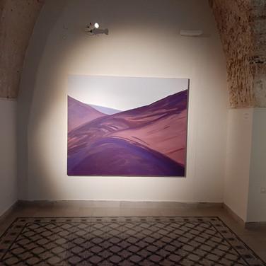 Iris Cintra, Emptying, 2019, installation view, Schechter Gallery, Tel Aviv.