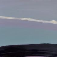 Iris Cintra, Monolight, 2019, Oil on canvas, 40 x 55 cm.