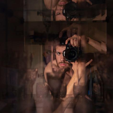Stanislav Pospelov, Self Portrait with a Camera, 2014