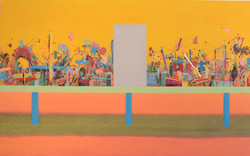 Streaming,  2016, oil on canvas, 160x100 cm.jpg