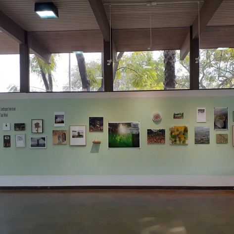 Installation view, USC Hillel gallery