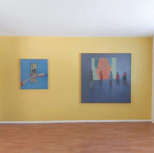 Alon Kedem, Screen Time, Installation View, IAILA, May 2021