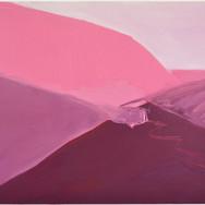 Iris Cintra, From Sea Dizziness to Land Dizziness, 2020, Oil on linen, 19.6 x 23.6 inches, 50 x 60 cm.