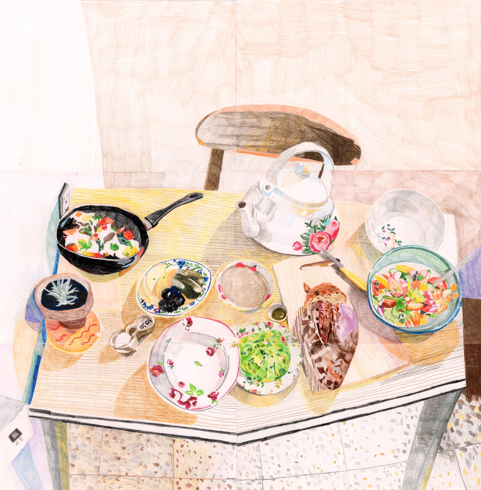 ארוחת בוקר אצל גל 2016 הילה שפיצר.jpg