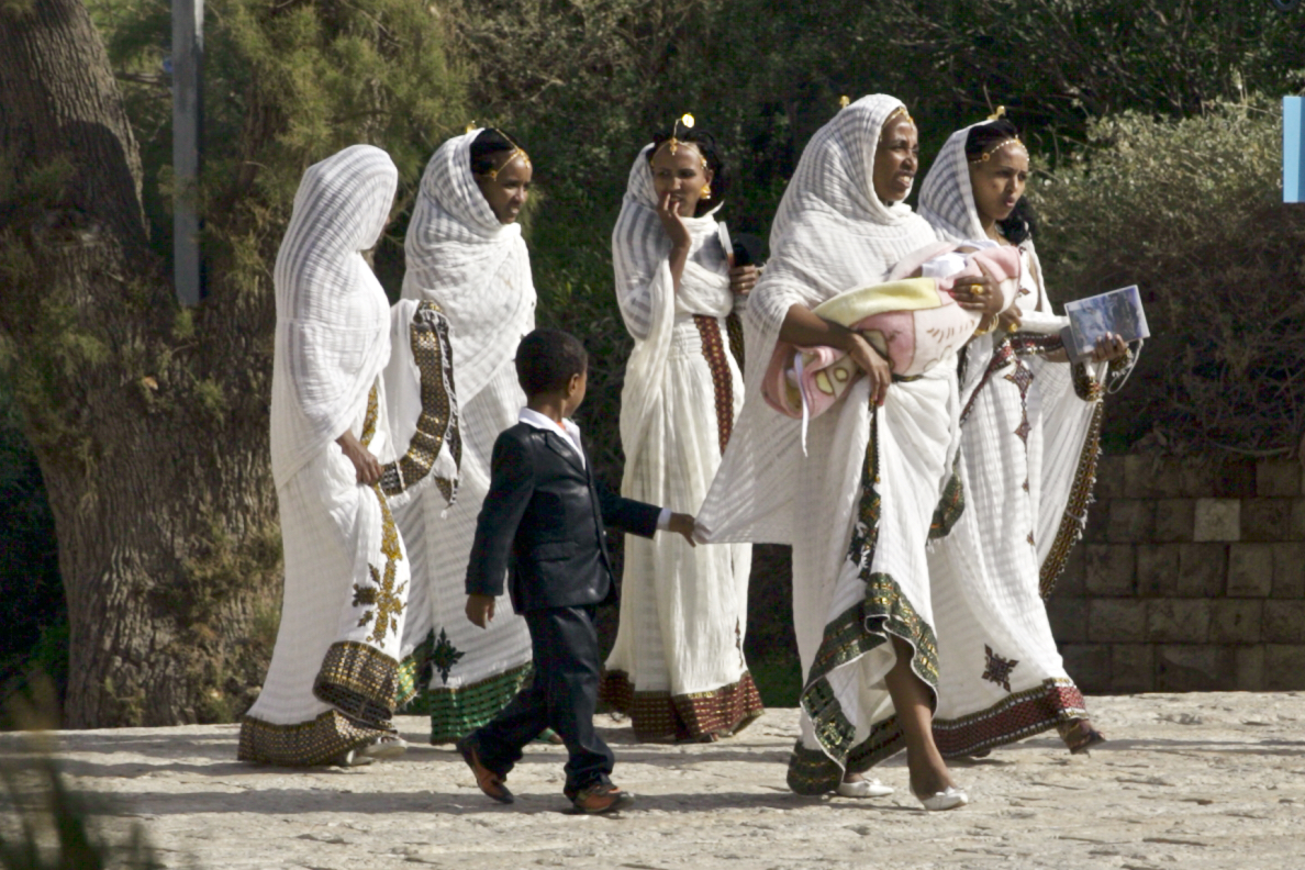 Ethiopian Israeli Wedding, Jaffa 15
